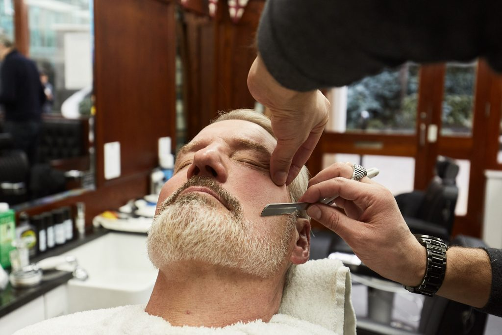 Beard Shave - Paddington Barber Shop | Pall Mall Barbers Paddington | Paddington Barber Shop